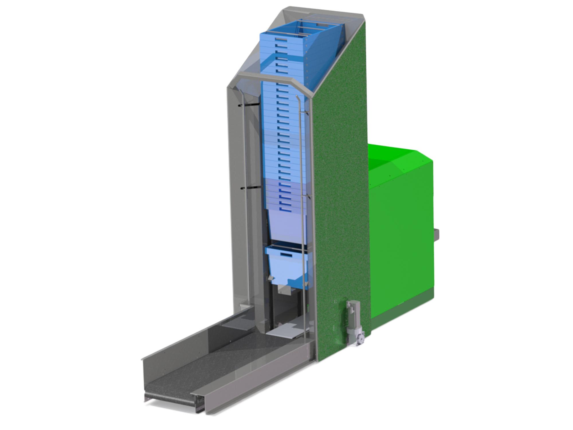 Case Erector and Dispenser - Qumec